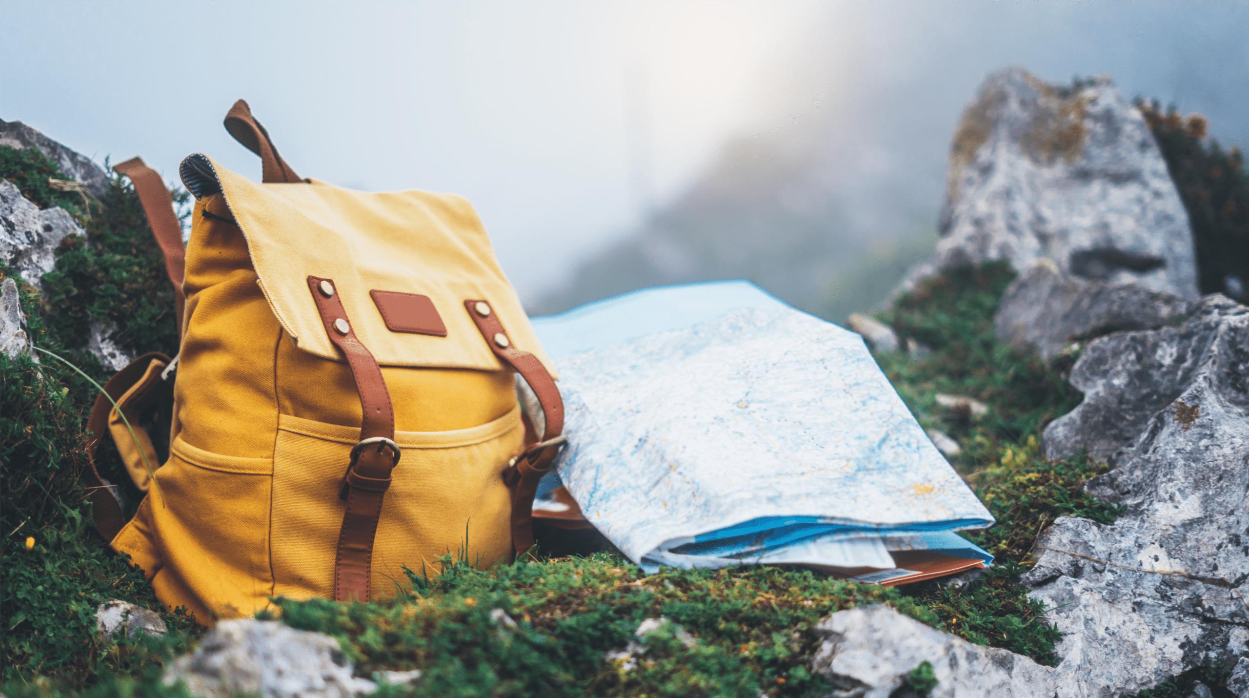 travel backpack cold drink
