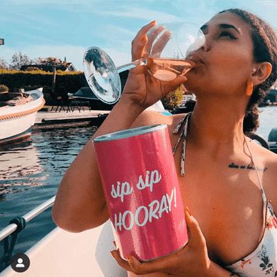 SHAKIRA sip sip wine cooler