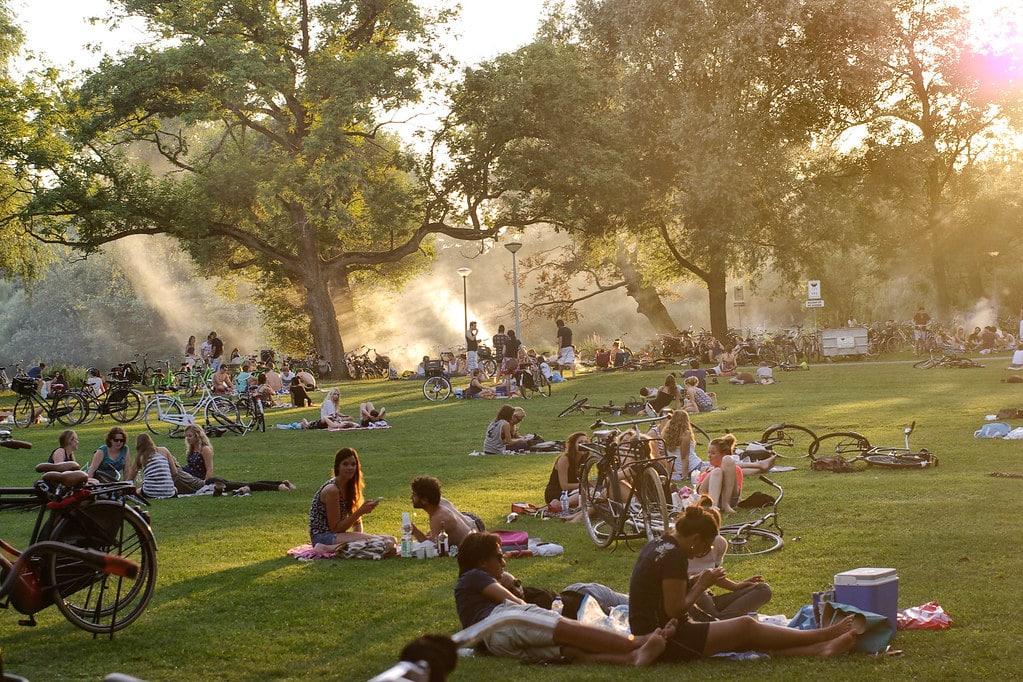 vondelpark picnic